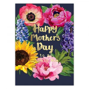 Happy Mother's Day to my Lovely Mum Greetings Card by Sarah Kelleher