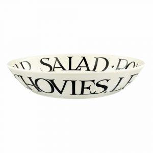 Emma Bridgewater Black Toast Caesar Salad Medium Pasta