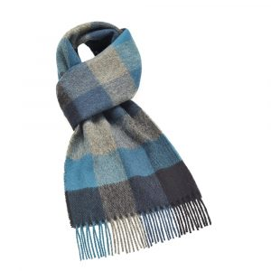 Madison Scarf - Bamburgh Turquoise - Bronte by Moon