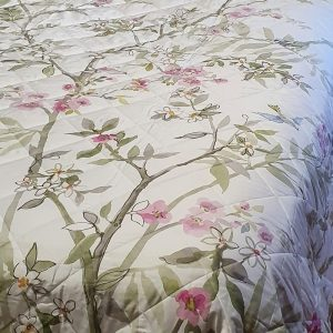 Peppola Quilted Bedspread - 100% Cotton Sateen - Made in Italy