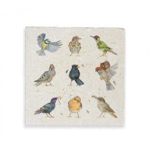 Birds Large Platter - British Collection by Kate of Kensington