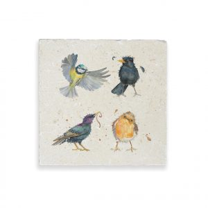 Birds Medium Platter - British Collection by Kate of Kensington