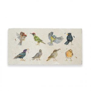 Birds Sharing Platter - British Collection by Kate of Kensington