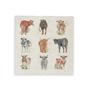Cows Large Platter - British Collection by Kate of Kensington