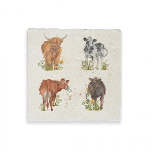 Cows Medium Platter - British Collection by Kate of Kensington
