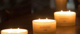 Rathbornes Candles at Night