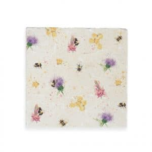 Thistles & Bees Large Platter - Woodland Walk Collection by Kate of Kensington